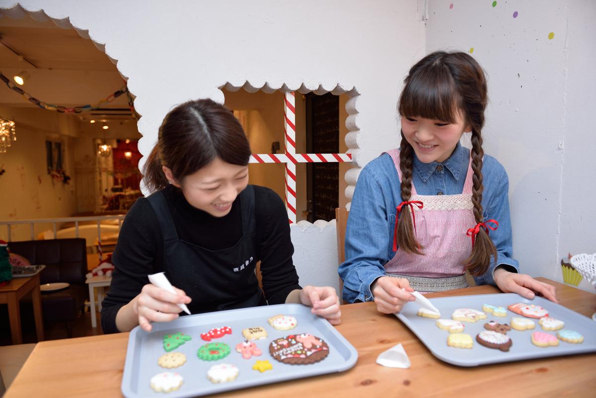 高円寺のアイシングクッキー教室